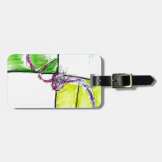 Let Freedom Reign in the Dance of the Chaos Star Luggage Tag