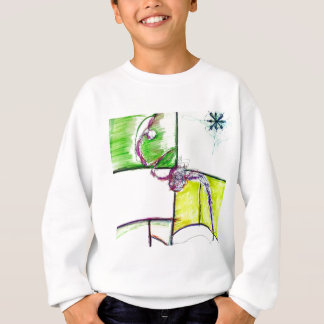 Let Freedom Reign in the Dance of the Chaos Star Sweatshirt