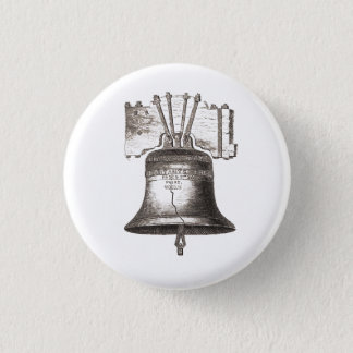 Let Freedom Ring 1 Inch Round Button