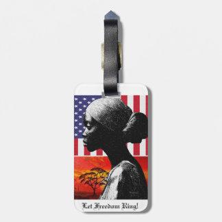 Let Freedom Ring Bag Tag