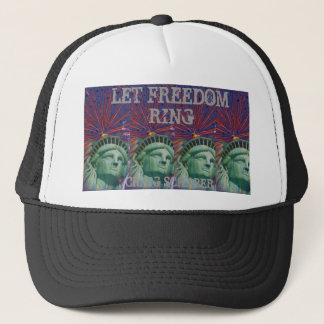 LET FREEDOM RING TRUCKER HAT