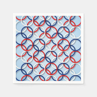 Let Freedom Ring Veterans Day Party Paper Napkins