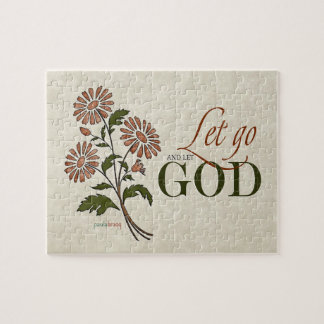 Let Go and Let God (Recovery Quotes) Puzzle