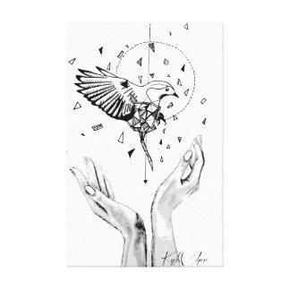Let Go by KylaCher Studio Canvas Print