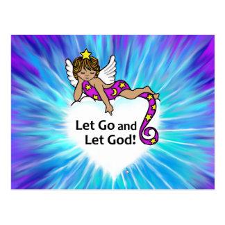 Let Go Ethnic Angel Postcards