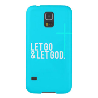 """Let go & let God."" w/Cross Galaxy S5 Case"