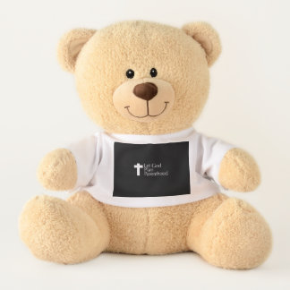 Let God Teddy Bear