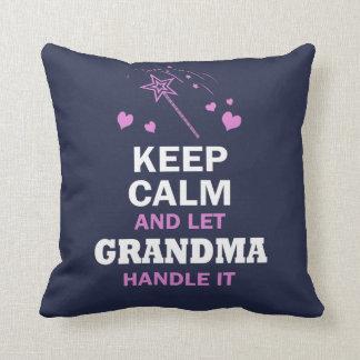 LET GRANDMA HANDLE IT... THROW PILLOW