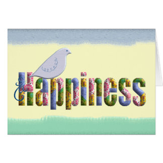 Let Happiness Find You Card