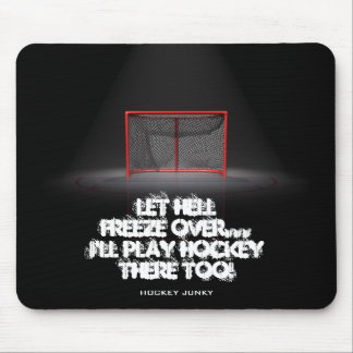 LET HELL FREEZE OVER MOUSE PAD