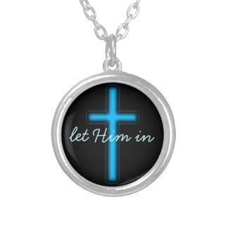 let Him in christian Necklace
