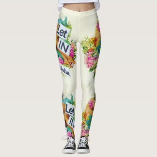 Let in The Aloha Leggings