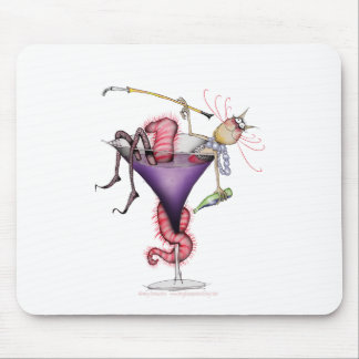 let it all hang out!, tony fernandes mouse pad