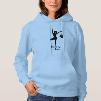 Let It Be In Tree ~ Yoga Inspired Fashion Wear Hoodie