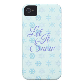 Let it be Snowy Christmas iPhone 4 Cover