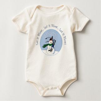 Let It Blow, Let it Blow, Let it Blow Baby Bodysuit