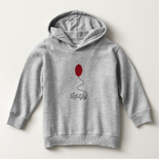Let it fly balloon Ziw7l Hoodie