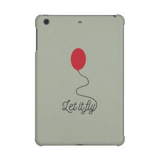 Let it fly balloon Ziw7l iPad Mini Covers