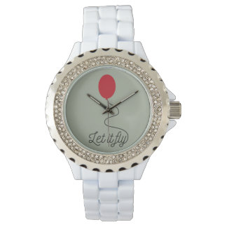 Let it fly balloon Ziw7l Wristwatches