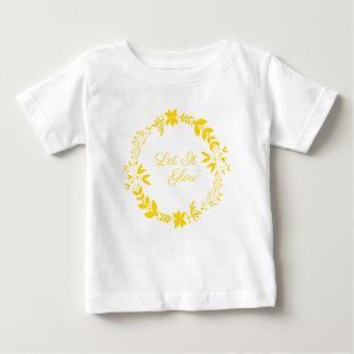 Let It Glow Baby T-Shirt