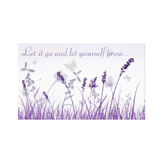 Let It Go and Let Yourself Grow Canvas