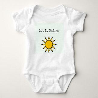 Let it shine baby bodysuit