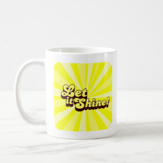 Let It Shine Christian Mug