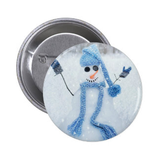 Let It Snow 2 Inch Round Button