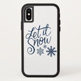 Let It Snow Apple IPhone Tough Case