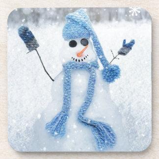 Let It Snow Beverage Coaster