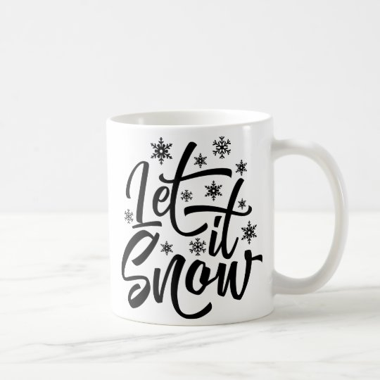 Let it Snow Christmas Gift Mug