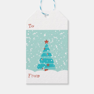 """Let it Snow"", Christmas Gift Tags Pack Of Gift Tags"