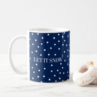 Let It Snow Christmas Holiday Coffee Mug