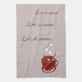 Let It Snow DishTowel Towel