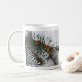 Let It Snow Evergreen Mug 3