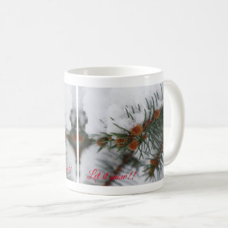 Let It Snow Evergreen Mug 4