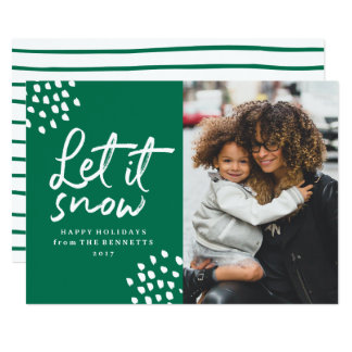 Let It Snow | Holiday Photo Card