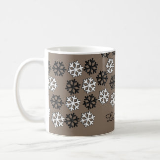 Let it snow hot chocolate mug