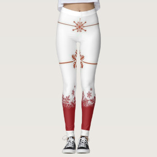 Let it snow! Leggings