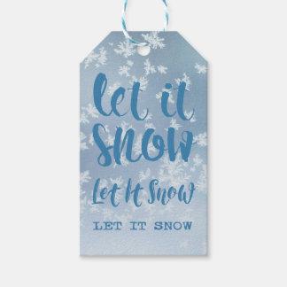 Let It Snow, Let It Snow, Let It Snow! Gift Tags