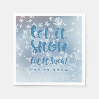 Let It Snow, Let It Snow, Let It Snow! Napkin