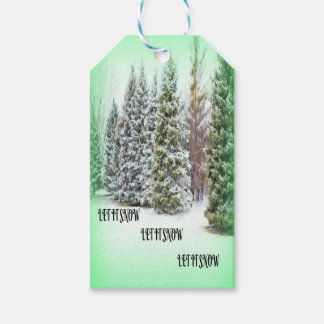 Let It Snow! Let It Snow! Let it Snow! Pack Of Gift Tags