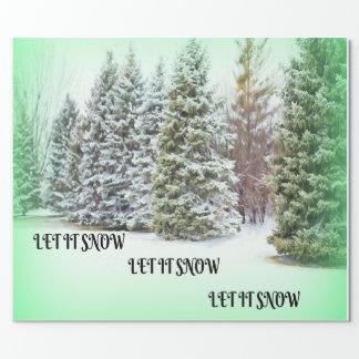 Let It Snow! Let It Snow! Let it Snow! Wrapping Paper