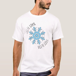 Let It Snow Men's T-Shirt - White