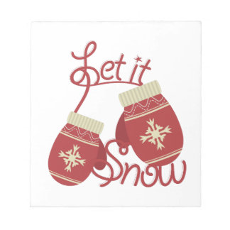 Let It Snow Notepads