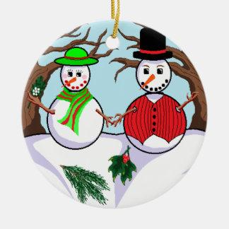 """""""Let It Snow"""" Ornament"""