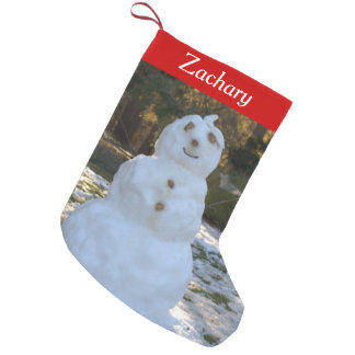 Let it Snow Personalized Snowman Stockings