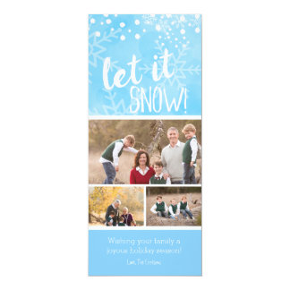 Let It Snow Photo Holiday Card