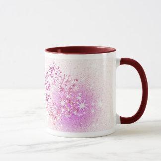Let it Snow Pink Mug
