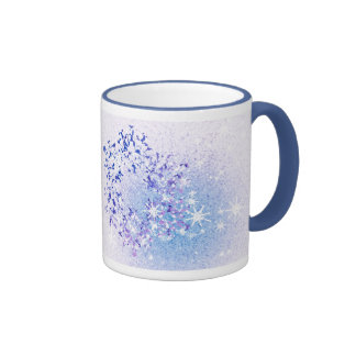 Let it Snow Ringer Mug